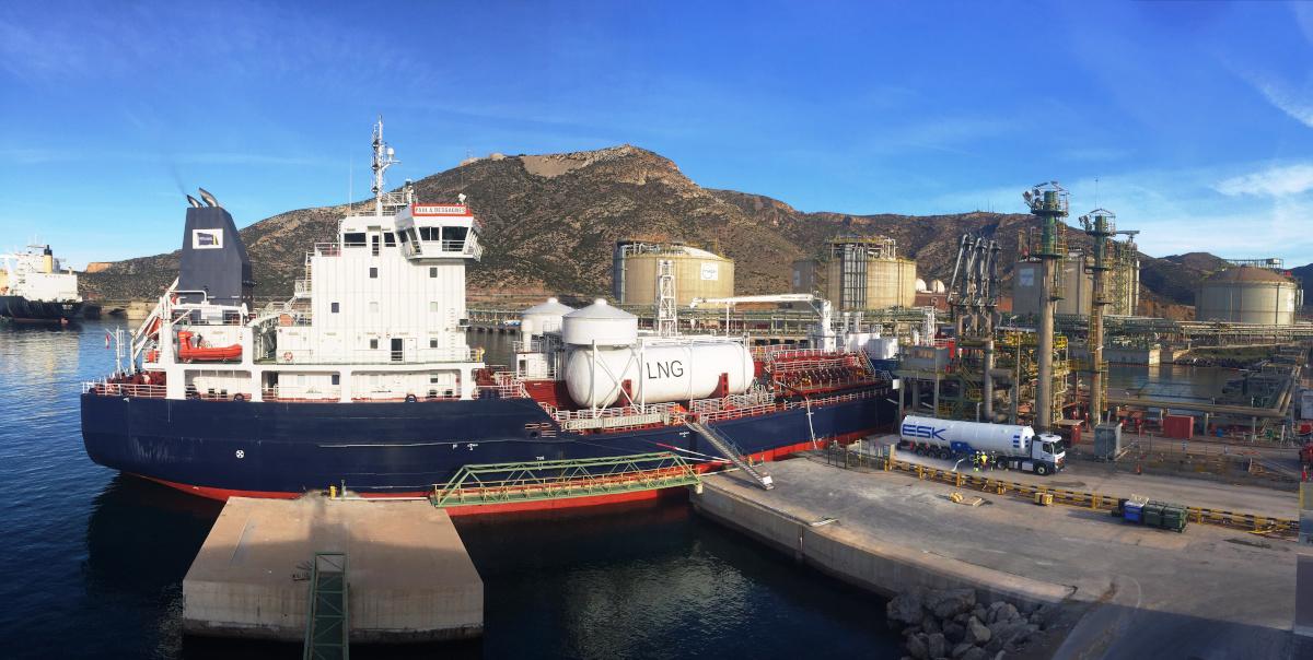 GNL. Puerto de Cartagena